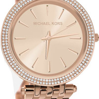 Michael Kors Rose Gold Tone Case, Bracelet & Dial MK3192 Watch