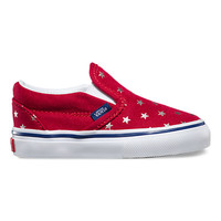 Toddlers Foil Stars Slip-On | Shop Toddler Shoes at Vans