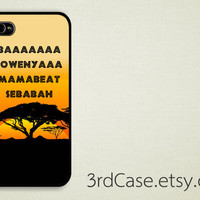 Case iPhone 4 Case iPhone 4s Case iPhone 5 Case movie lion king africa