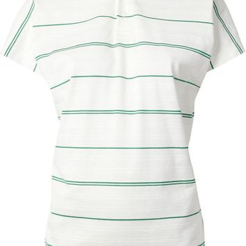 Junya Watanabe Comme Des Gar?ons striped polo shirt