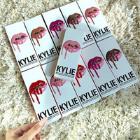 Lip Gloss Lipstick Kylie Jenner Lip Kit + gift box