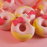 Hello Kitty Squishy Donut Phone Charm