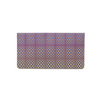 Abstract Squares 3 Checkbook Cover