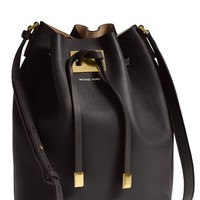 Michael Kors 'Large Miranda' Leather Bucket Bag