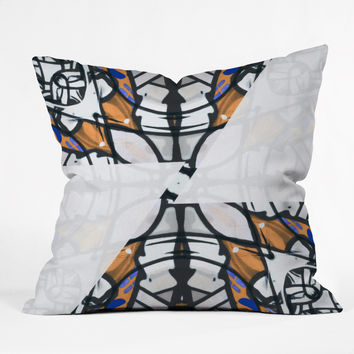 Caleb Troy Geo Discord Throw Pillow
