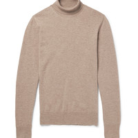 Maison Margiela - Elbow Patch Wool Rollneck Sweater | MR PORTER