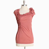 avenlea asymmetrical ruched top - $32.99 : ShopRuche.com, Vintage Inspired Clothing, Affordable Clothes, Eco friendly Fashion