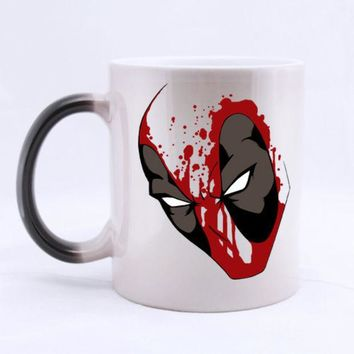 DCCKWQA Deadpool Ceramic Coffee Mug