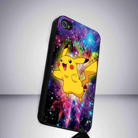 pikachu pokemon Custom iPhone case for iPhone 4 case by SegoPecel