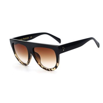 Over-Sized Sunglasses -Tortoise Shell