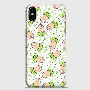 Disney Toy Story Buzz Pattern iPhone X Case | casescraft