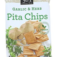 365 Everyday Value, Garlic & Herb Pita Chips, 9 oz