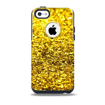 The Gold Glimmer Skin for the iPhone 5c OtterBox Commuter Case