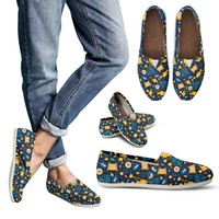 Hanukkah Pattern Casual Shoes
