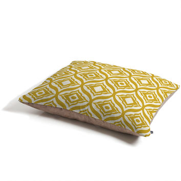 Heather Dutton Trevino Yellow Pet Bed