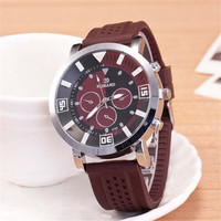Mens Womens Travel Breathable Silicone Watch Boys Casual Sports Watches +  Beautiful Gift Box