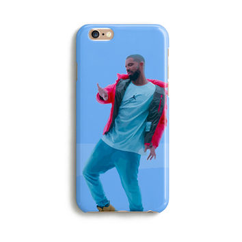 Drake hotline bling illustration iPhone case - Cute iPhone case 1P008B