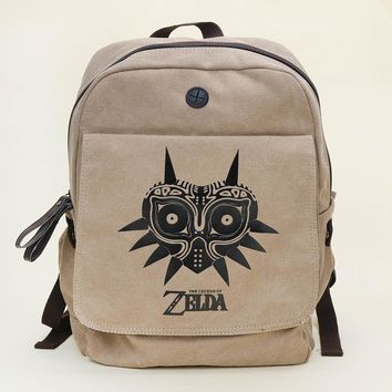 2 styles Anime Dragon ball  The legend of zelda cos messager bag Dragon ball Z backpack shoulder bags canvas bag kids best gift