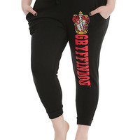 Harry Potter Gryffindor Girls Jogger Pants Plus Size