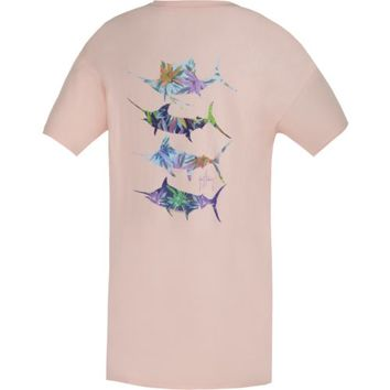 Guy Harvey Women's Wild Flowers T-shirt | Academy
