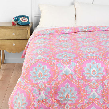 Floral Medallion Duvet Cover