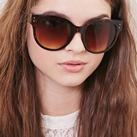 Oversized D-Frame Sunglasses