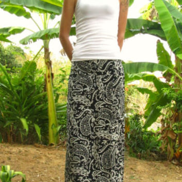 Paisley Henna Cotton Skirt Pants Trousers Harem Yoga Pants Hippie Travel Indie | eBay
