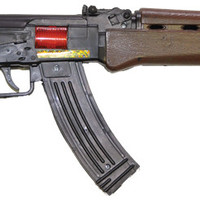 costume weapon: ak47 submachine gun