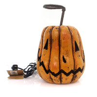 Halloween Grinning Pumpkin Halloween Decor
