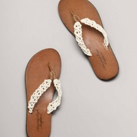 AEO Crocheted Flip-Flop | American Eagle Outfitters