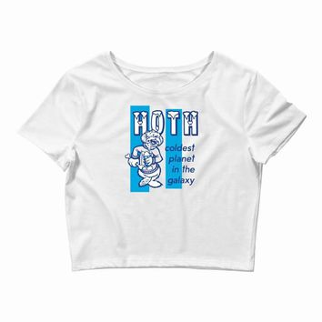 hoth coldest in the galaxy Crop Top