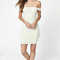 LA Hearts Off-The-Shoulder Eyelet Dress at PacSun.com