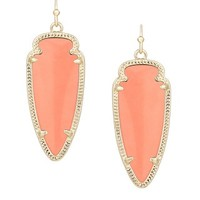 Sky Earrings in Coral Magnesite - Kendra Scott Jewelry