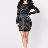 Devoted To You Dress - Black