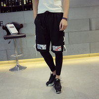 Summer Hip-hop Casual Korean Pants Couple Shorts [6541171139]