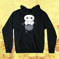 Baymax In Pocket Customiz Hoodie men women Unisex adults Screenprint size S,M,L,XL,XXL