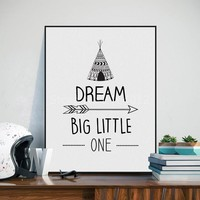 Motivational Child Canvas Wall Art ✳ 4 Designs