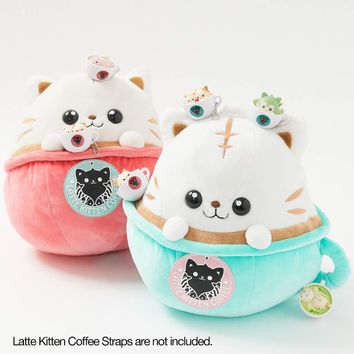 Latte Kitten Coffee Big Plushies
