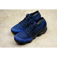 Best Deal Online 2018 Nike Air Max VaporMax Flyknit Men Women Running Shoes Navy Blue