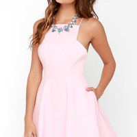 Keepsake Restless Heart Light Pink Dress