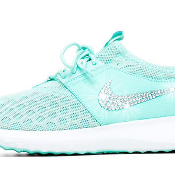 Women s Nike Juvenate Running Shoes By Glitter Kicks - Customized With  Swarovski Cryst 4d184c9456