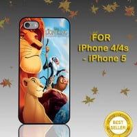 Lion King Hakuna Matata - Photo on Hard Cover - For iPhone Case ( Select An Option )