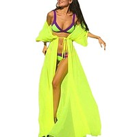 New Women Chiffon Swimwear Bikini Cover Up