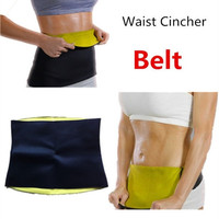 New Arrivals Body weight loss waist cincher body trainer tummy trimmer neoprene slimming Belt ceinture minceur hot shapers tv = 5987621633