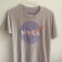 Heather Grey NASA T-Shirt
