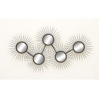 Attractive Metal Mirror Wall Decor