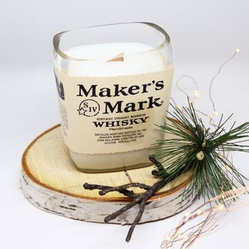 Maker's Mark Whiskey Candle