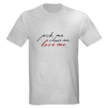 Best cafepress grey 39 s anatomy products on wanelo for Pick me choose me love me shirt