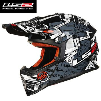 2016 New LS2 MX437 Motocross racing Rally off-road moto helmet ECE approved capacste casco atv dirt bike cross motorcycle helme