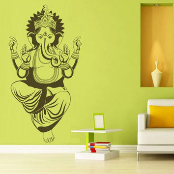 Lord Ganesh wall decal for housewares